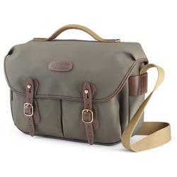 Billingham Hadley ProShoulder Bag (Sage FibreNyte & Chocolate Leather)