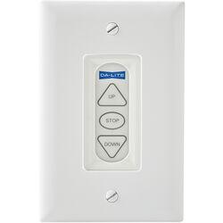 Da-Lite Extra Three Button Low Voltage Control Switch