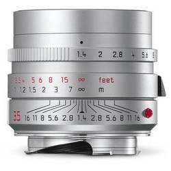 Leica Summilux-M 35mm f/1.4 ASPH Lens (Silver)