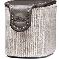Leica Visoflex Case Country for X and X-E Digital Cameras (Canvas and Leather/Taupe)