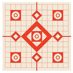 """Burris Optics 13 x 13"""" Targets for Shooters (10-Pack)"""