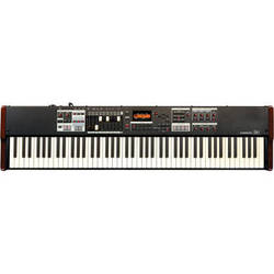 Hammond Sk1-88 - Portable Hammond Organ and Stage Keyboard (Burgundy/Black)
