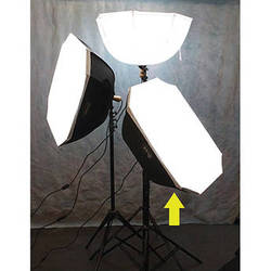 Photek Brella Box Rectangular Kit with Stand (Black/Silver)