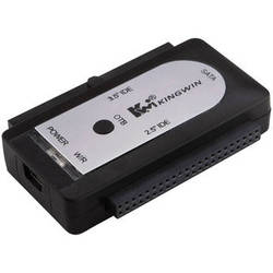 "Kingwin USI-2535 EZ-Connect USB 2.0 to SATA/IDE Adapter for 2.5""/3.5"" Hard Drives"