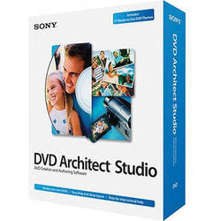 Sony DVD Architect Studio 5.0 (Standard Edition, Download)