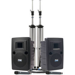 Anchor Audio LIB-DPDUALAC-HH Liberty Platinum DUAL Deluxe Package with Two WH-8000 Handheld Microphones