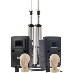 Anchor Audio LIB-DPDUAL Liberty Platinum DUAL Deluxe PA Package with 2 UltraLite Microphones