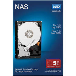 "WD 5TB Red 5400 rpm SATA III 3.5"" Internal NAS HDD Retail Kit"