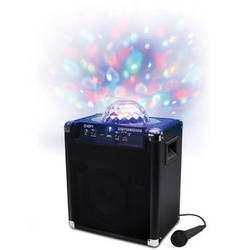 ION Audio Party Rocker - Wireless Speaker System with Built-In Light Show