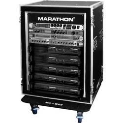 Marathon Flight Road Case 16U Shock Mount and Amplifier Deluxe Case