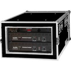 """Marathon 6U Shock Mount Amplifier Deluxe Case 21"""""""