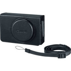 Canon PSC-5300 Deluxe Leather Case for PowerShot G7 X Digital Camera (Black)