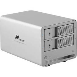 "Xcellon DRD-101 Dual-Bay System for 3.5"" SATA Hard Disk Drives"