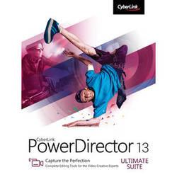 CyberLink PowerDirector 13 Ultimate Software Suite (DVD)