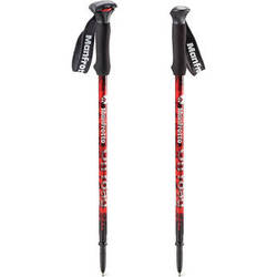 Manfrotto Off road Aluminum Walking Sticks (Red)