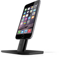 Twelve South HiRise Stand for iPhone, iPad mini, & Apple Siri Remote (Black)