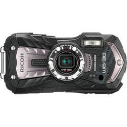 Ricoh WG-30W Digital Camera (Carbon Gray)