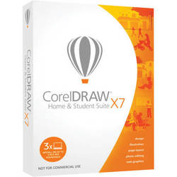 Corel CorelDRAW Home and Student Suite X7 (Education Boxed Edition, DVD)