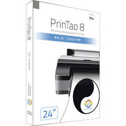 """LaserSoft Imaging PrinTao 8 for Mac (Download, Canon 24"""" Edition)"""