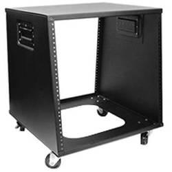 iStarUSA WZ-1050 10U 500mm Depth Sloping Media Rack (Black)