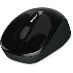 Microsoft Wireless Mobile Mouse 3500 for Windows and Mac (Black)