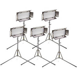 ikan CHR550-v2 IB508-v2 LED Studio 5-Light Kit