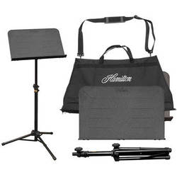 Hamilton Stands KB90 Traveler II Portable Music Stand with Carrying Bag