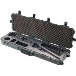 Pelican iM3300 Storm Case with Molded Foam Interior for Rifle (Black)