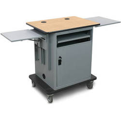 Marvel Instructor Series Presentation Cart Gold Version (Maple, Silver)