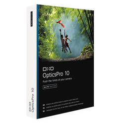 DxO OpticsPro 10 Elite Edition (DVD)