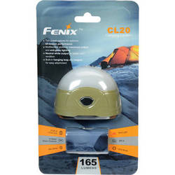 Fenix Flashlight CL20 Dual-Color LED Camping Lantern (Olive Green)