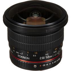Rokinon 12mm f/2.8 ED AS IF NCS UMC Fisheye Lens for Pentax K Mount