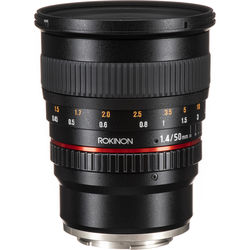 Rokinon 50mm f/1.4 AS IF UMC Lens for Sony E-Mount