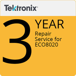 Tektronix ECO8020R3 3-Year Repair Service for ECO8020