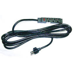 Luxor Power Cord for LP Table Units, Model LPE