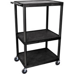 """Luxor 54"""" Extra-Wide LP Table (Black)"""