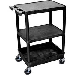 "Luxor 24x18"" HD Utility Cart (Black)"
