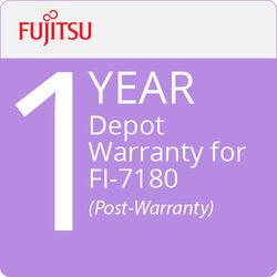 Fujitsu Depot Warranty for fi-7180 (1-Year, Post-Warranty)
