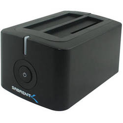 Sabrent USB 3.0 Dual Bay HDD Docking Station
