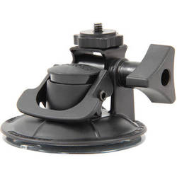 Delkin Devices Fat Gecko Stealth Single Suction POV Camera Mount