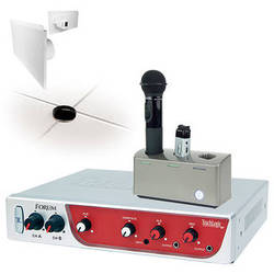TeachLogic IRF-3650 Forum Wireless System with Sapphire Microphone and 4 Lay-In Panel Speakers