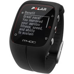 Polar M400 Sports Watch (Black)