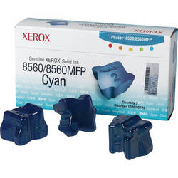 Xerox Cyan Solid Ink for Phaser 8560 & 8560MFP (3 Sticks)