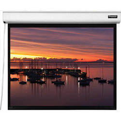 "Vutec ELM043-076MWW1 Elegante 43.25 x 76.75"" Motorized Screen (White, 120V)"
