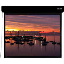 "Vutec ELM048-076MGB1 Elegante 48 x 76.75"" Motorized Screen (Black, 120V)"