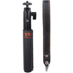XSORIES  U-Shot Deluxe Aluminum Extension Pole (Leather, Black)