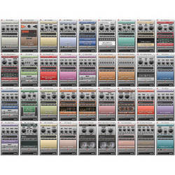 Audiffex Pedals Software Set of 36 Plug-Ins for Guitar and Bass (Download)
