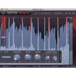 FabFilter Pro-L 2 Limiter Software Plug-In