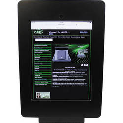 FSR Table Mount for iPad 4 with Rotate Tilt & Swivel Options (Black)