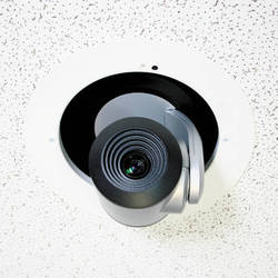 Vaddio In-Ceiling Half-Recessed Enclosure for RoboSHOT PTZ Cameras